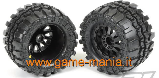 "Pair of Interco TSL SX 2.8"" tires on F-11 rims for Traxxas by Pro-Line"