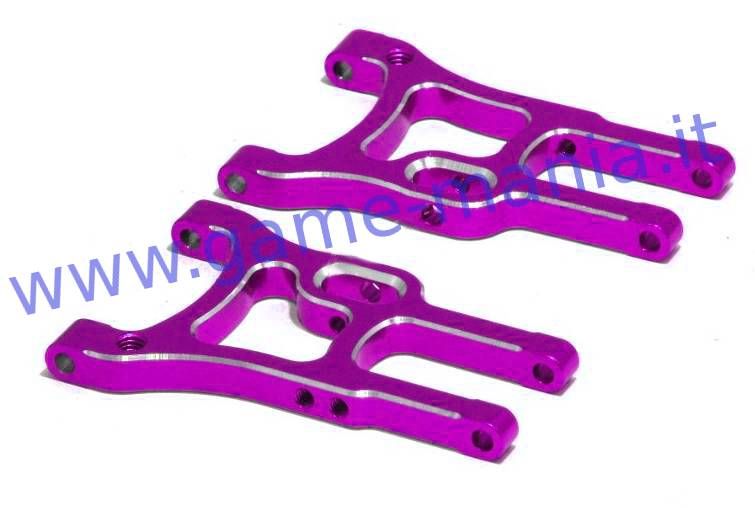 Bracci sosp. ANTERIORI INFER. dx e sx IN LEGA VIOLA x touring by RK