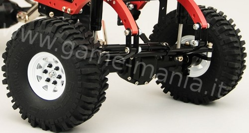 Cerchi 1.55 OEM beadlock in acciaio WHITE EDITION by RC4WD (x4)