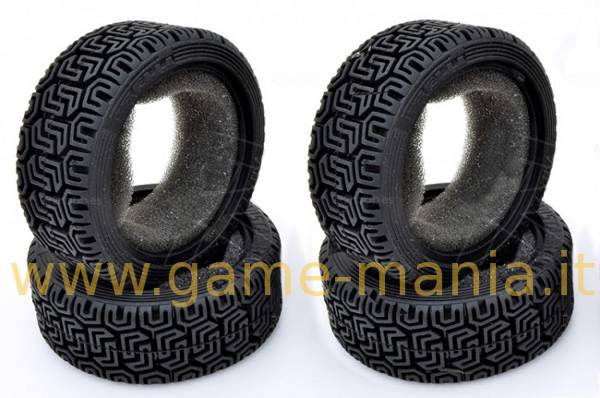 Gomme da rally (4) PIRELLI REPLICA 26mm per auto RC 1:10