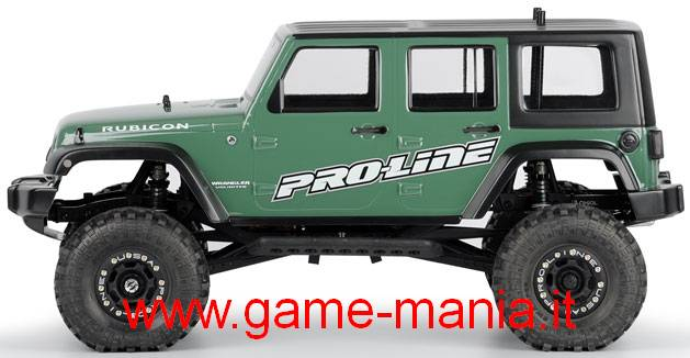 "JEEP WRANGLER RUBICON UNLIMITED carrozzeria 12.3"" by Pro-Line"