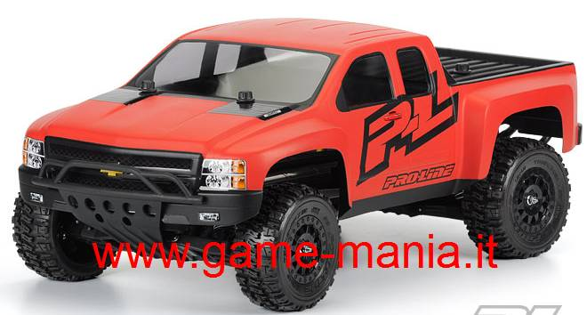 CHEVY SILVERADO carrozzeria in lexan per Slash by Pro-Line