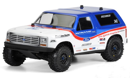 Carrozzeria trasparente FORD Bronco 1981 per Slash 1/10 by Pro-Line