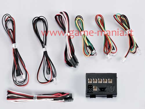 48101 - RC car working led lights controller set (turn-stop-front) by Killerbody