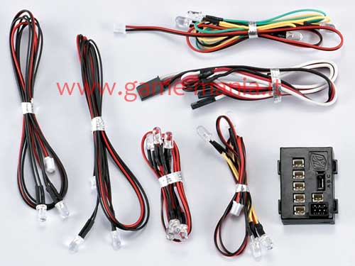 48103 - RC car working led lights controller set (turn-stop-front) by Killerbody