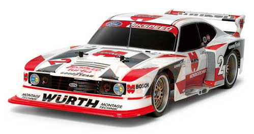 Carrozz. Ford Capri Turbo Zakspeed 200mm trasparente by Tamiya