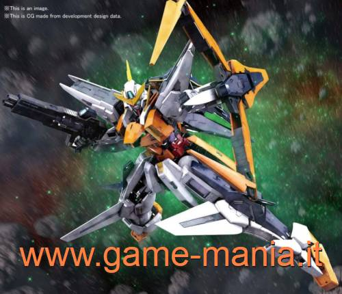 GN-003 Gundam Kyrios 1:100 model kit serie MG by Bandai