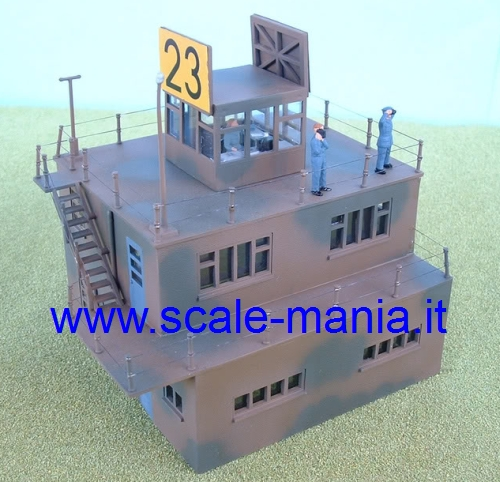Kit torre di controllo inglese WWII in scala 1:76 by Airfix