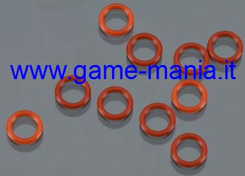 O-rings silicone da 4mm interno 5mm esterno (10 pz.) by Axial