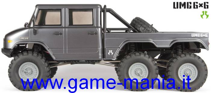 SCX-10 II - RTR Unimog 6x6 body 1/10 ASSEMBLED scaler by Axial