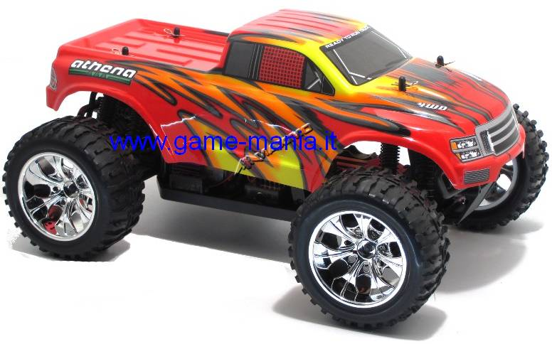 Athena MONSTER II 1:10 4x4 RTR 2.4Ghz completo di TUTTO