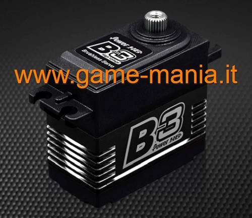 30Kg PowerHD Digital Brushless HV B3 servo steel and titanium gears