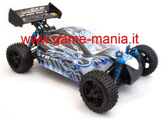 Athena BUGGY PRO BRUSHLESS 1:10 4x4 completo di LiPo e 2.4Ghz