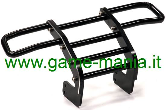 Bull-bar in alluminio anodizzato NERO per Tamiya F350 by Integy