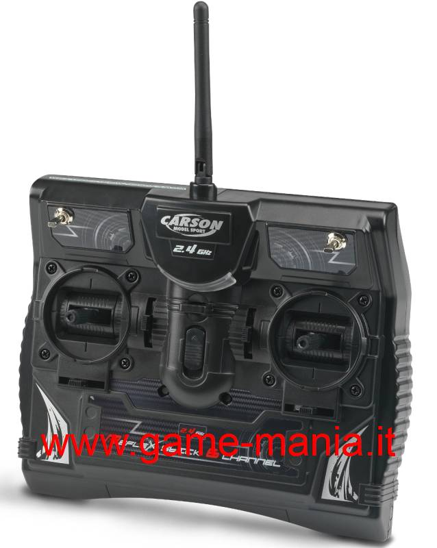 REFLEX II 6-channel transmitter and receiver set 2.4Ghz by Carson