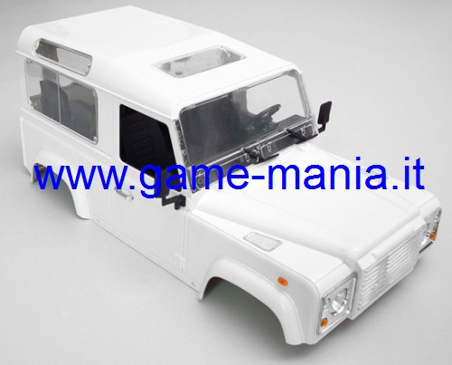 LAND ROVER DEFENDER D90 carrozzeria in VERO ABS x scalers neutra by RC4WD