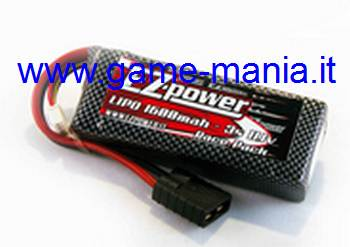 Lipo 1600Mah 3S1P 30C - VERY FAST on Traxxas 1/16 by EZ