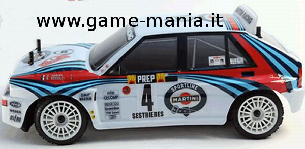Rally Legends - Lancia DELTA MARTINI EVO2 - 2.4Ghz RTR COMPLETA!