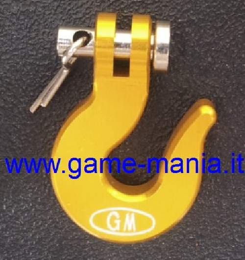 Gancio x verricello 1:10 IN LEGA anodizzato ORO by Game-Mania