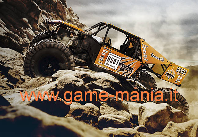 Gmade GOM GR01 rock buggy: crawler-racer tubolare 2.2 in kit