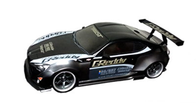 Sakura D4 AWD 1/10 DRIFT car kit with GT86 Greddy lexan body by 3Racing - NEW