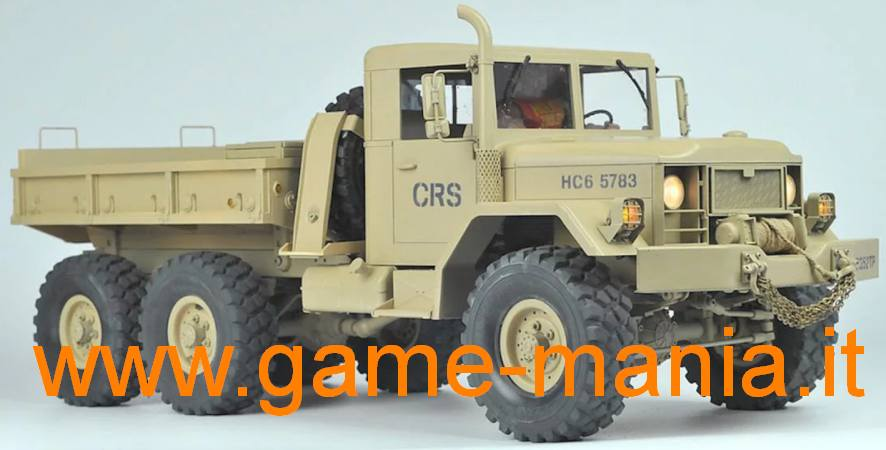 HC6 kit Jeep M35 6x6 scala 1:12 radiocomandato by Cross-RC