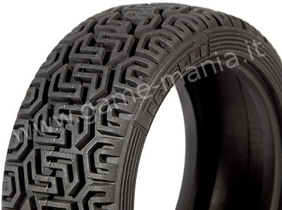 2 PIRELLI REPLICA rally tires in D compund for 1/10 cars by HPI