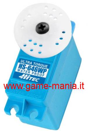 HS-646WP servo WATERPROOF 11,6Kg ingranaggi in metallo by Hitec