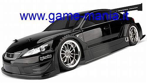 Carrozzeria LEXUS IS F Racing Concept con parabole 200mm by HPI