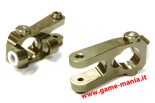 """C"" anteriori IN LEGA GRIGI per Twin Hammers by Integy"