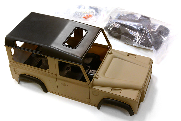 LAND ROVER DEFENDER D90 carrozzeria in ABS x scalers parzialmente verniciata by Integy