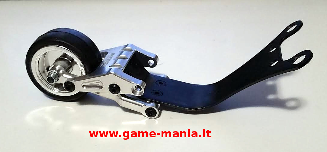 Wheely bar in alluminio e acciaio per Slash 2WD Stampede e Rustler by Integy