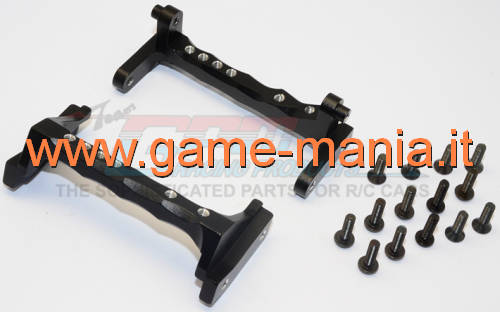 BLACK ALLOY servo mount for Vaterra Ascender by GPM