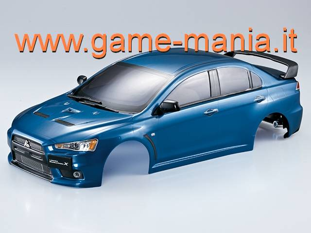 Carrozz. VERNICIATA BLU MET. Mitsubishi Lancer Evo X 190mm by KB