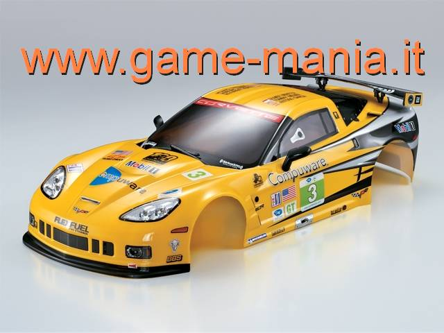 Carrozz. VERNICIATA RACING Chevrolet Corvette GT2 190mm by Killerbody