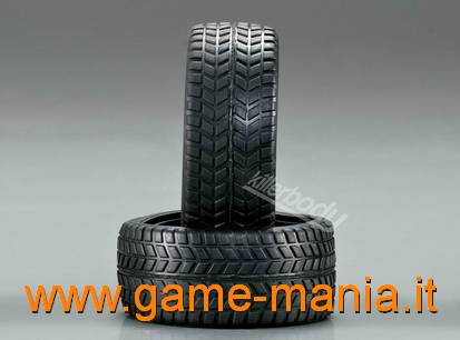 4 gomme in gomma a battistrada stradale tipo A x 1:10 by Killerbody