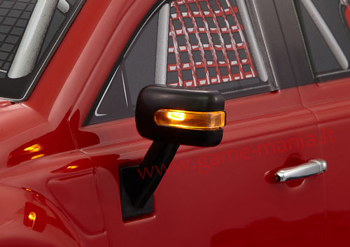 1/10 offroad nylon type F side mirrors with LED by KB