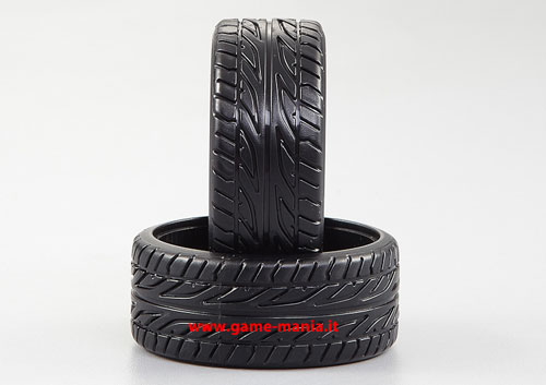 4 gomme DRIFT tipo A in ABS larghe 26mm per auto 1:10 by Killerbody