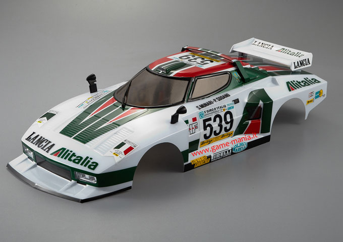 Carrozzeria Lancia Stratos Turbo Alitalia pronta CON PARABOLE by KB