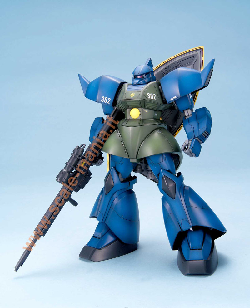 *MS-14A Gelgoog scala 1:100 serie MG by Bandai