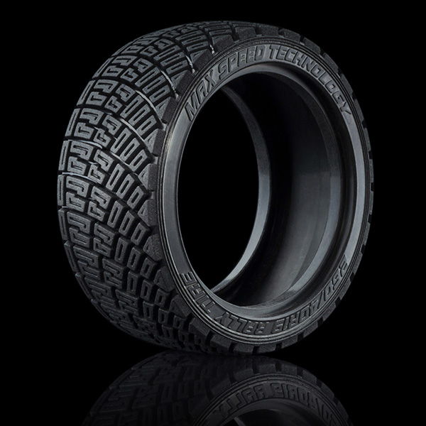4 gomme LTX da rally in mescola dura da 26mm per auto 1:10 by MST