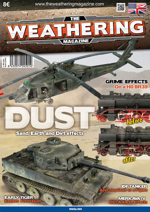 "The Weathering Mag. 2 ""DUST"" ristampa edizione inglese by MIG"