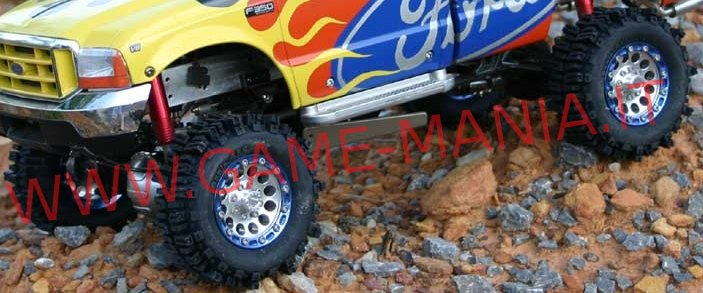 Coppia gomme 1.9 MUD SLINGERS 2 con inserti by RC4WD