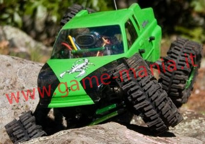 Pair of 2.2 MUD SLINGERS tires with inserts by RC4WD