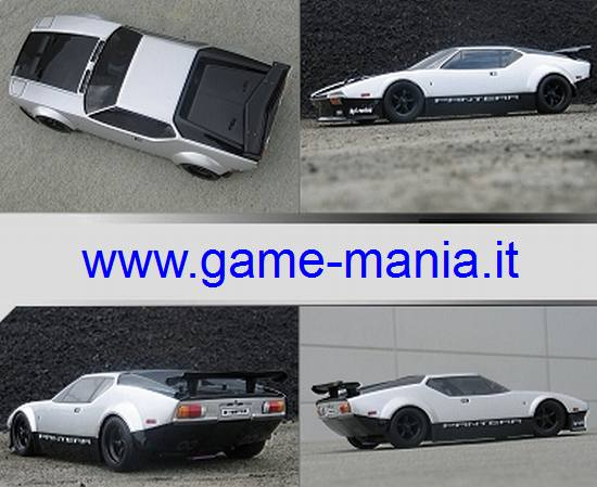 DE TOMASO PANTERA 200mm transparent 1:10 body by HPI