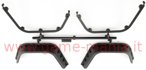 Offroad fender flare set (4 pcs.) for 1/10 by Axial