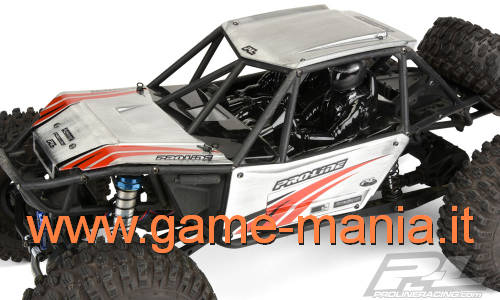 Axial RR-10 Bomber clear lexan body panels by Pro-Line