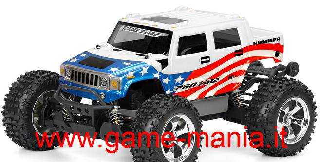 HUMMER H2 carrozzeria 1:10 per Traxxas Stampede by Pro-Line