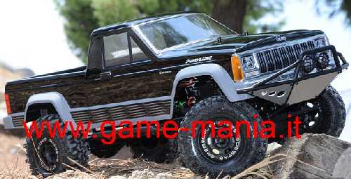 JEEP COMANCHE FULL BED per scalers passo 313mm by Pro-Line