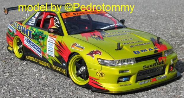 Vernice spray GIALLO TRASLUCIDO PS-42 per Lexan by Tamiya